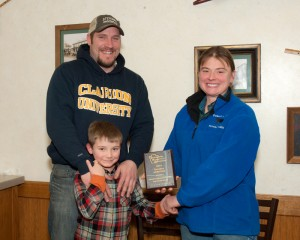 Breeder of the Year: Stewart's Simmental Cattle, Greg, Sam, and Grady Stewart, Halifax, PA